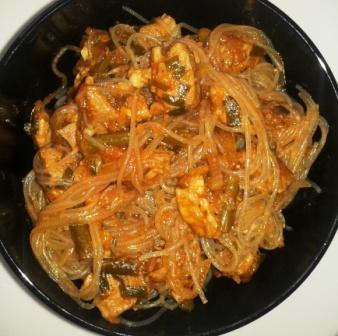 рецепты приготовления жареной фунчозы