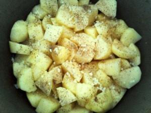 картофель домлома