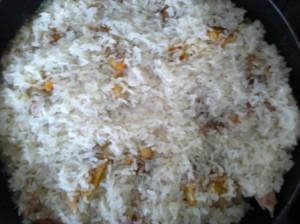 курица с рисом для плова