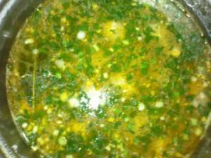 суп с фрикадельками готовый