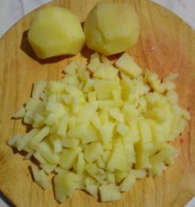винегрет картошка