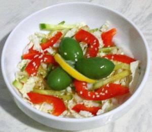 салат огурец пекинская капуста